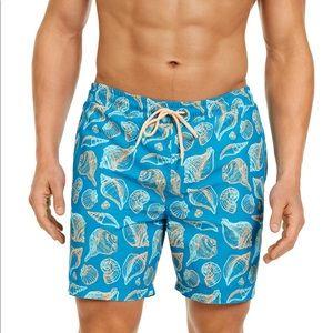 Club Room Men's Seashell Swim Trunks